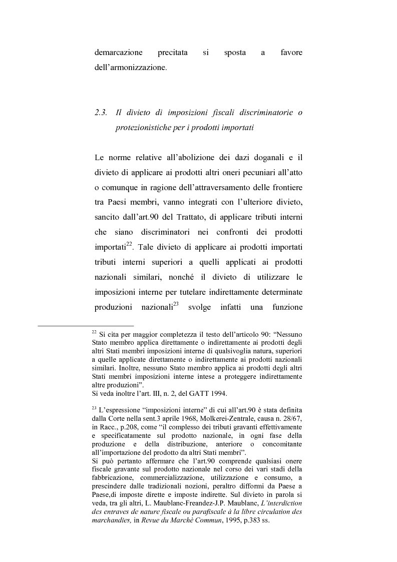 Anteprima della tesi: La regolamentazione del commercio dei prodotti agricoli nella Comunità Europea. Aspetti particolari in tema di carne bovina, Pagina 15
