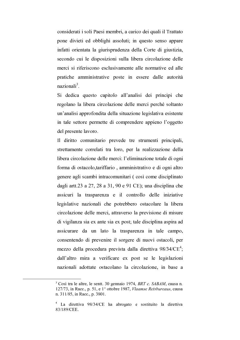 Anteprima della tesi: La regolamentazione del commercio dei prodotti agricoli nella Comunità Europea. Aspetti particolari in tema di carne bovina, Pagina 2