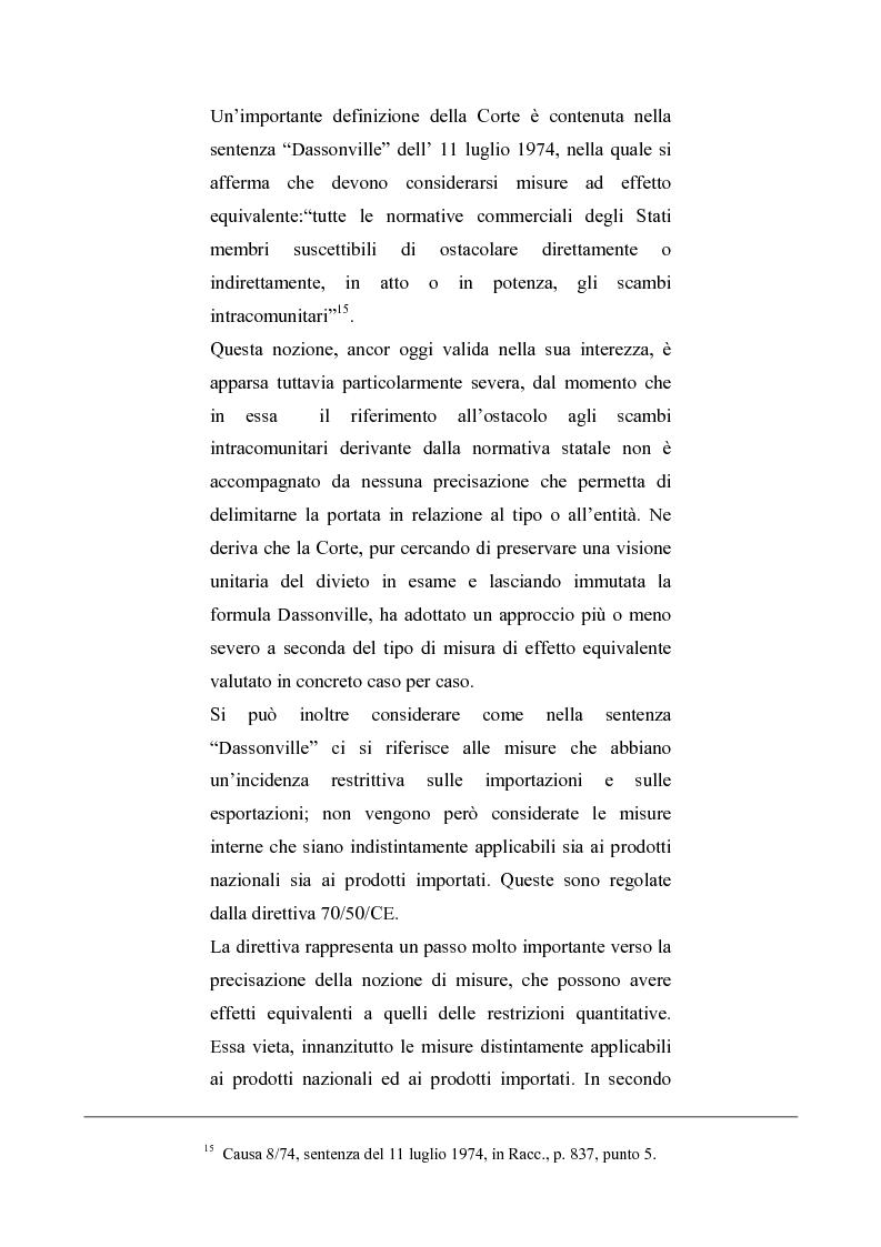 Anteprima della tesi: La regolamentazione del commercio dei prodotti agricoli nella Comunità Europea. Aspetti particolari in tema di carne bovina, Pagina 9