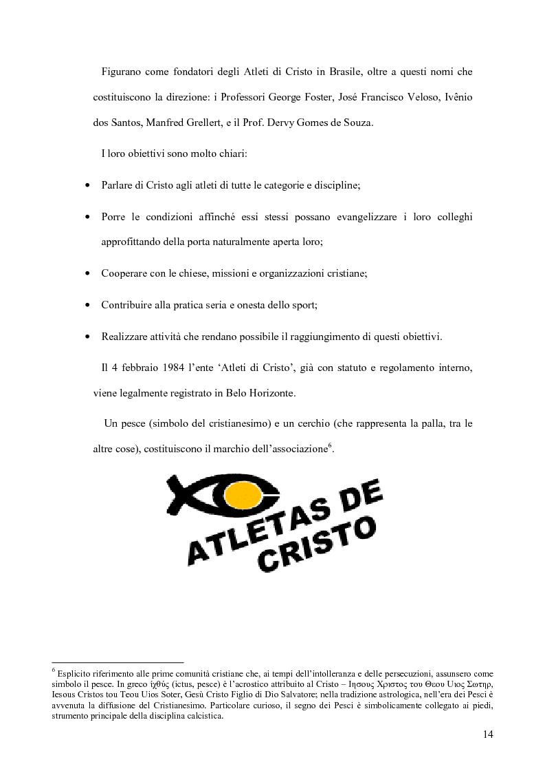 Anteprima della tesi: Atleti di Cristo. Tra sacro e profano, un movimento salvifico espresso dalla religiosità brasiliana, Pagina 11