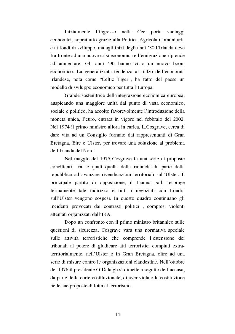 Anteprima della tesi: Diritti umani e politica estera irlandese nel secondo dopoguerra, Pagina 10