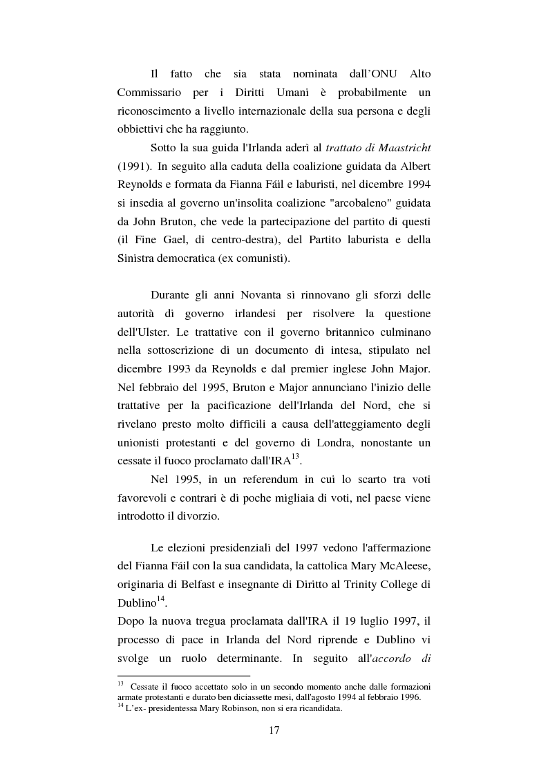 Anteprima della tesi: Diritti umani e politica estera irlandese nel secondo dopoguerra, Pagina 13