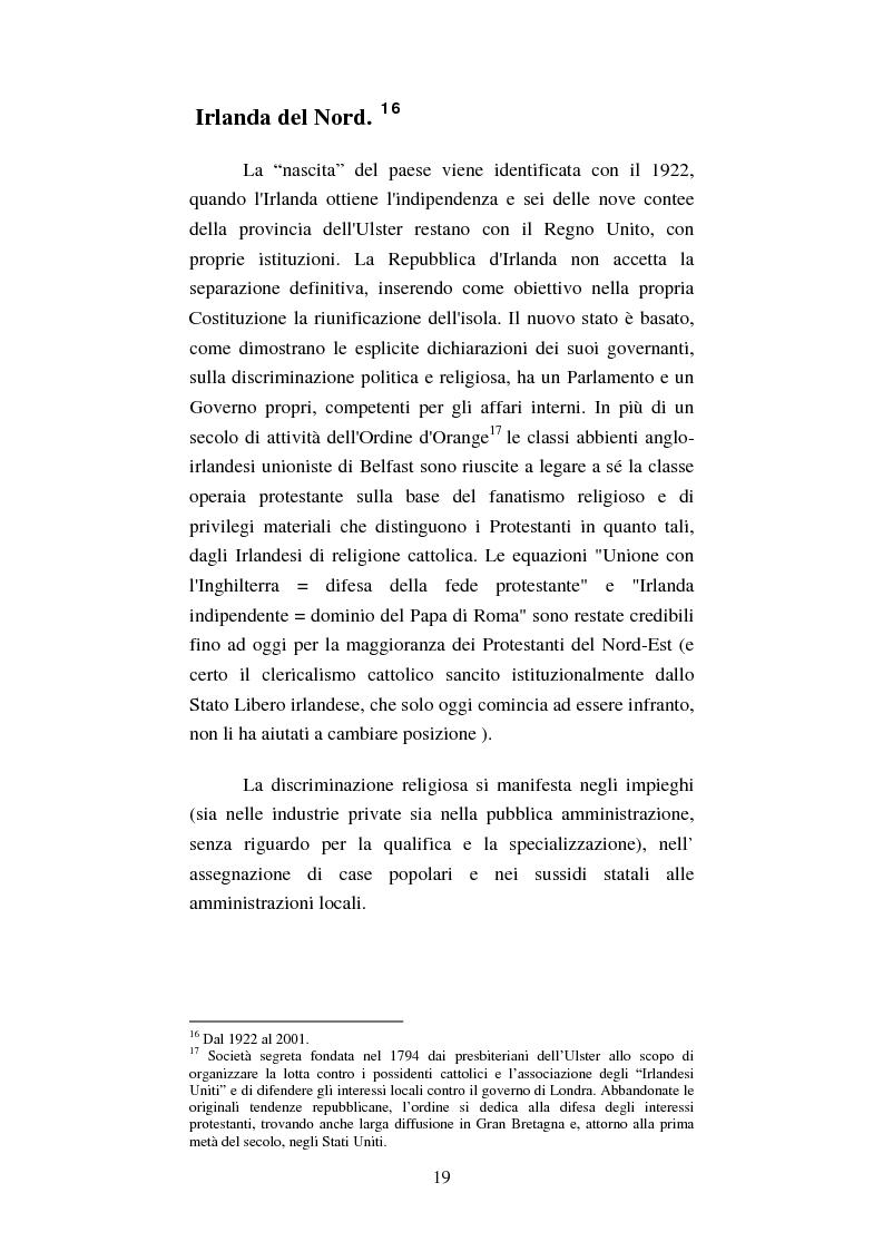 Anteprima della tesi: Diritti umani e politica estera irlandese nel secondo dopoguerra, Pagina 15