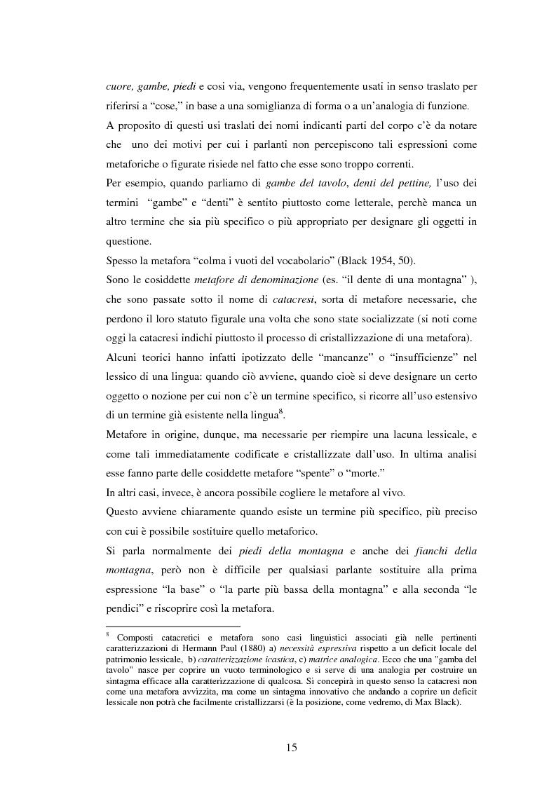 Anteprima della tesi: Il linguaggio figurato e la comprensione delle espressioni idiomatiche, Pagina 10