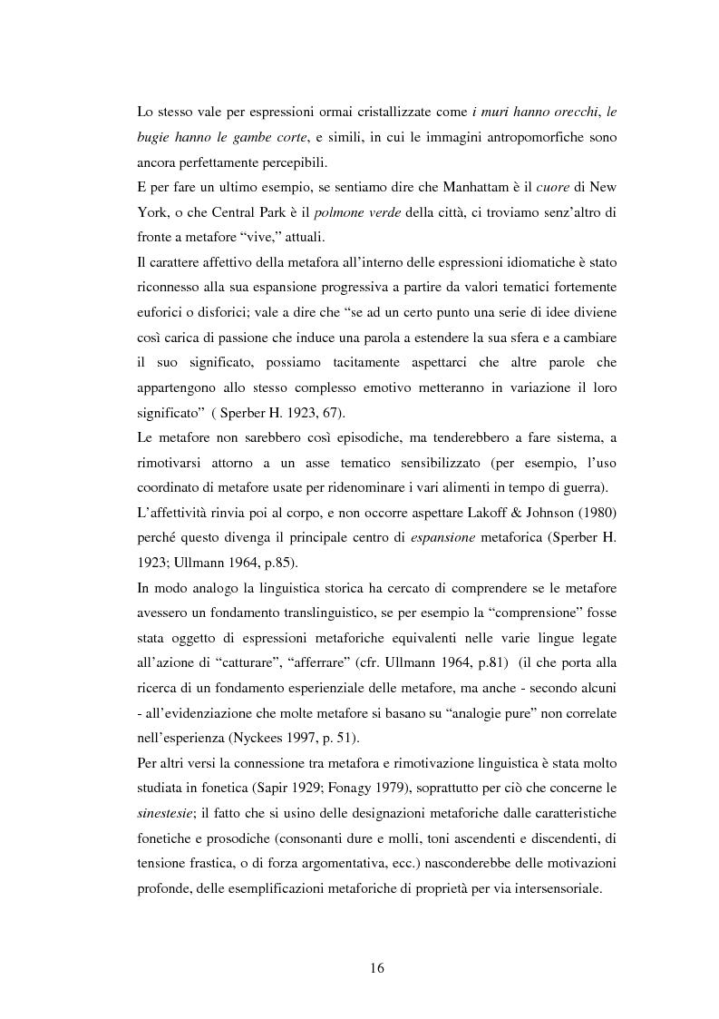 Anteprima della tesi: Il linguaggio figurato e la comprensione delle espressioni idiomatiche, Pagina 11