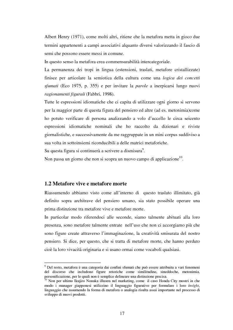 Anteprima della tesi: Il linguaggio figurato e la comprensione delle espressioni idiomatiche, Pagina 12
