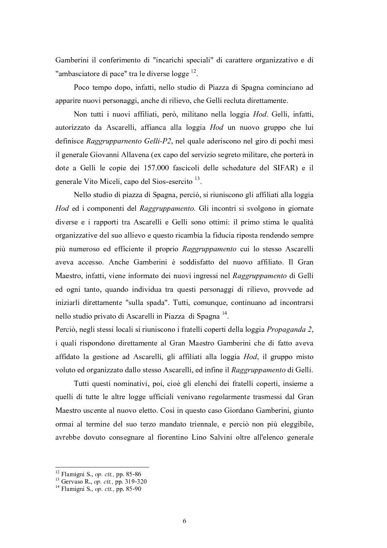 Anteprima della tesi: ''Il Potere è nei media''. La P2 e l'editoria nella stampa italiana e inglese, Pagina 9