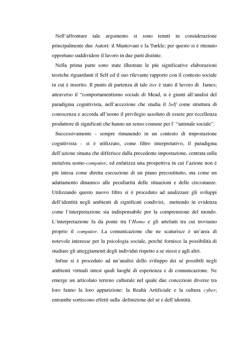 Anteprima della tesi: Identità digitale, Pagina 2
