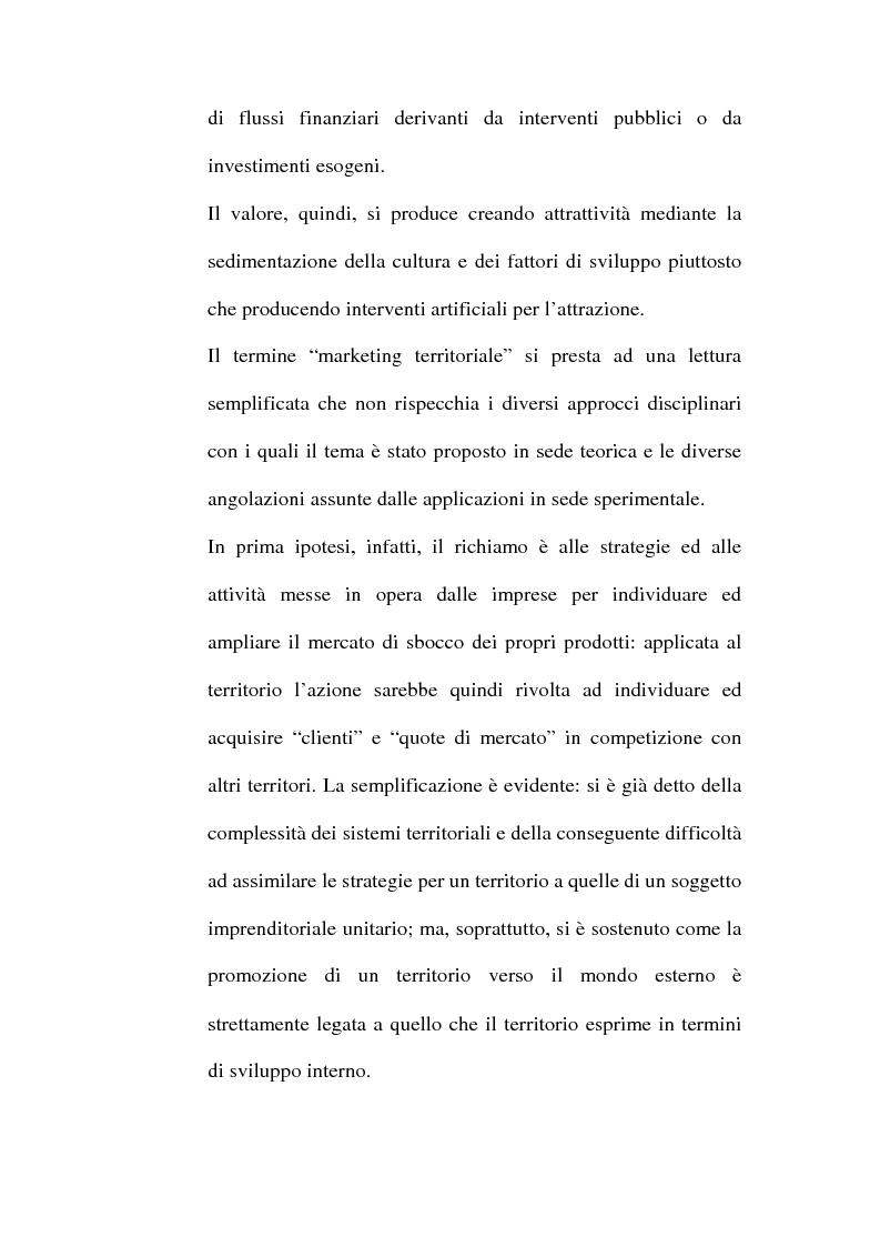 Anteprima della tesi: Lo sviluppo territoriale e l'importanza delle risorse locali: piano di marketing turistico-culturale della città di Benevento, Pagina 11