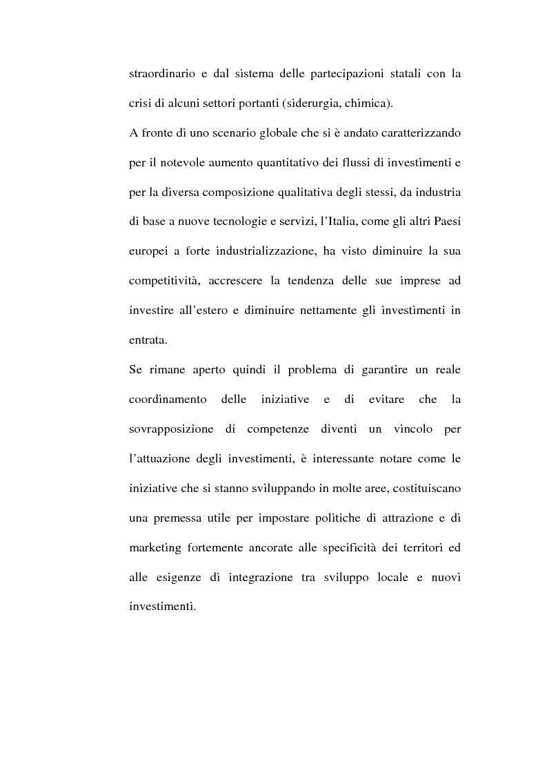 Anteprima della tesi: Lo sviluppo territoriale e l'importanza delle risorse locali: piano di marketing turistico-culturale della città di Benevento, Pagina 15