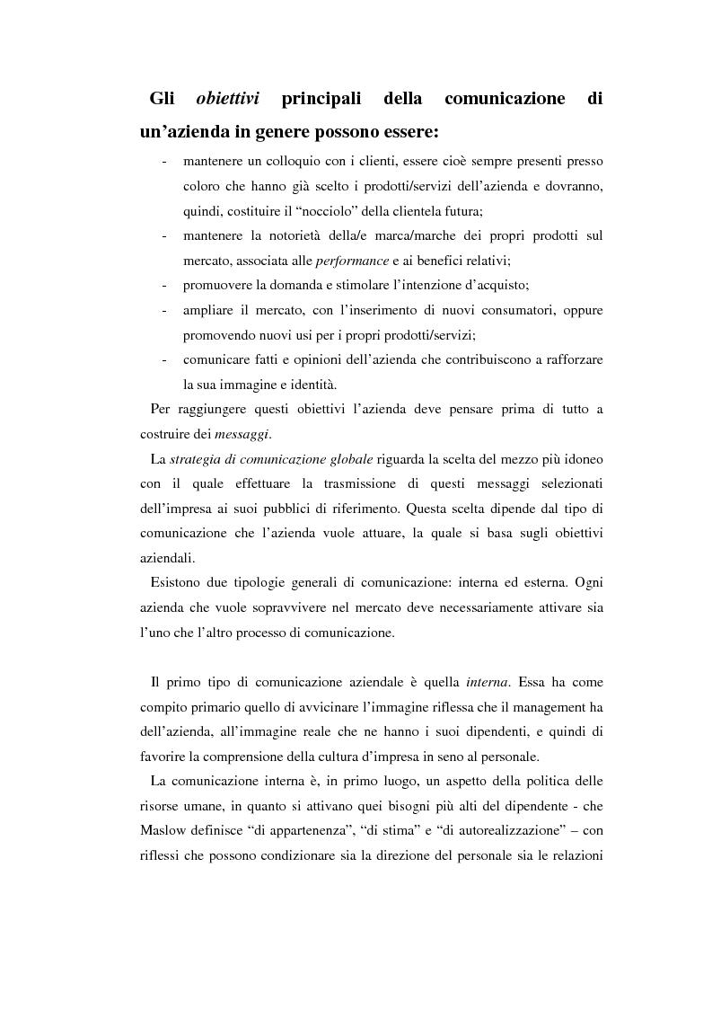Anteprima della tesi: Comunicare l'immagine di eccellenza - Il caso Ferrari, Pagina 11