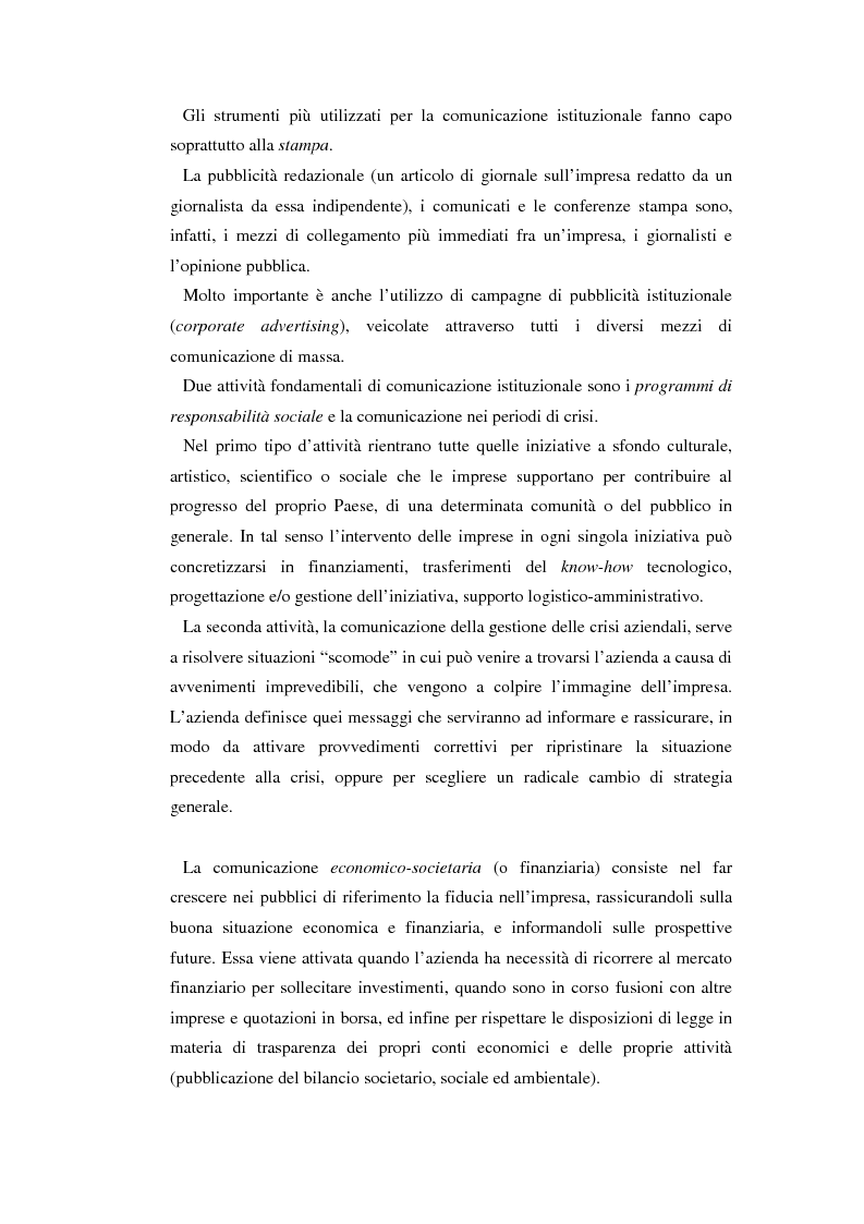 Anteprima della tesi: Comunicare l'immagine di eccellenza - Il caso Ferrari, Pagina 13