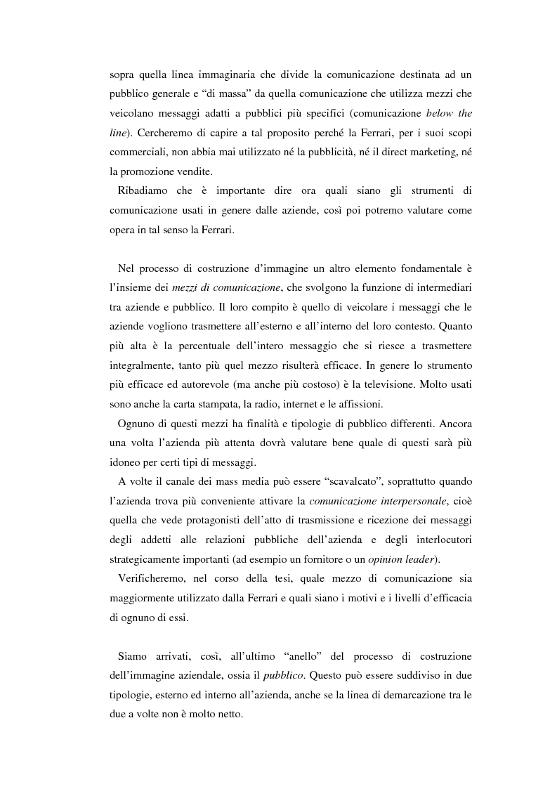 Anteprima della tesi: Comunicare l'immagine di eccellenza - Il caso Ferrari, Pagina 15