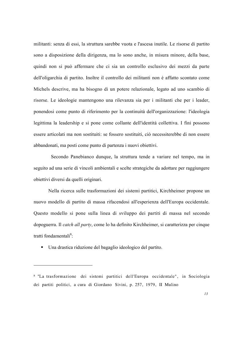 Anteprima della tesi: Partiti e imprese pubbliche - Il caso del Monte dei Paschi di Siena, Pagina 9