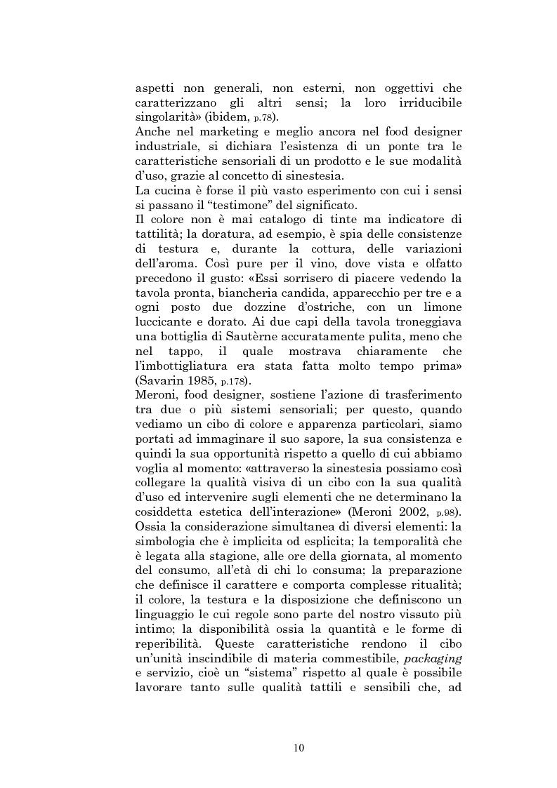 Anteprima della tesi: Il sapore glocale della cucina in tv, Pagina 7