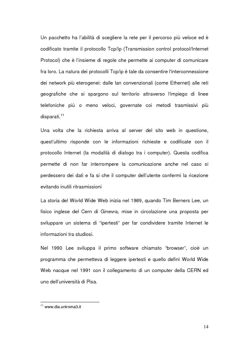 Anteprima della tesi: Strategie comunicative delle televisioni sul web, Pagina 12