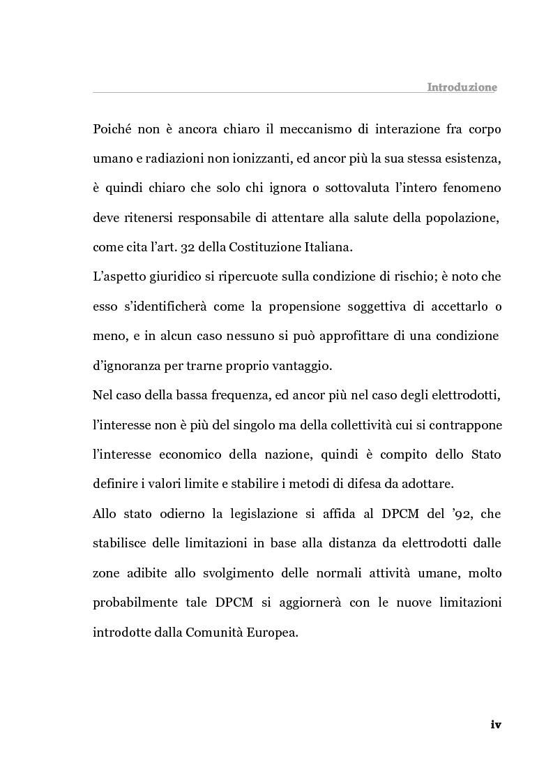 Anteprima della tesi: Analisi tecnica normativa e giuridica sull'elettrosmog a bassa frequenza, Pagina 4