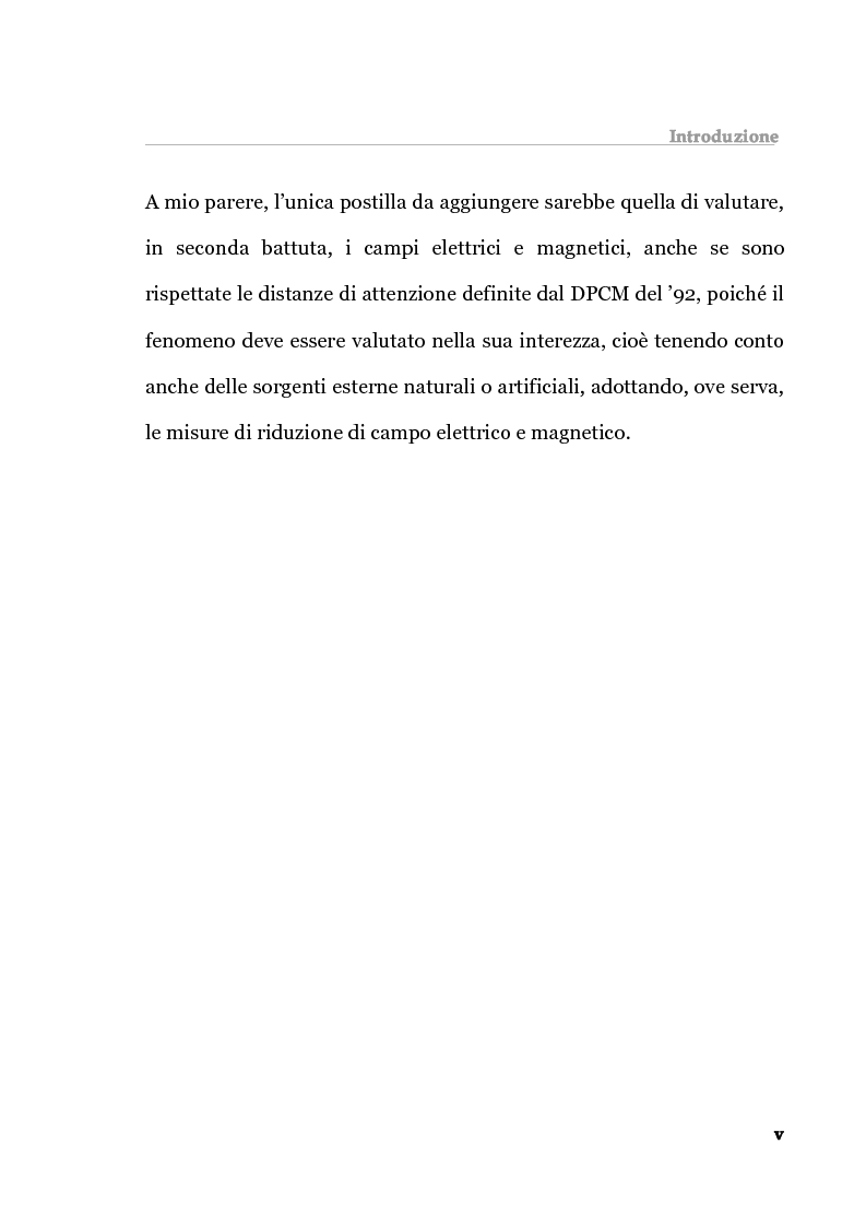 Anteprima della tesi: Analisi tecnica normativa e giuridica sull'elettrosmog a bassa frequenza, Pagina 5