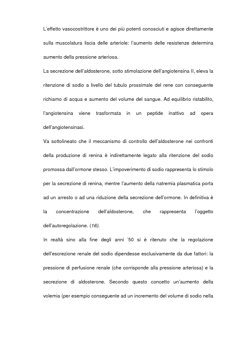 Anteprima della tesi: Studio nosografico dell'impegno cardiaco nelle malattie renali del cane, Pagina 7