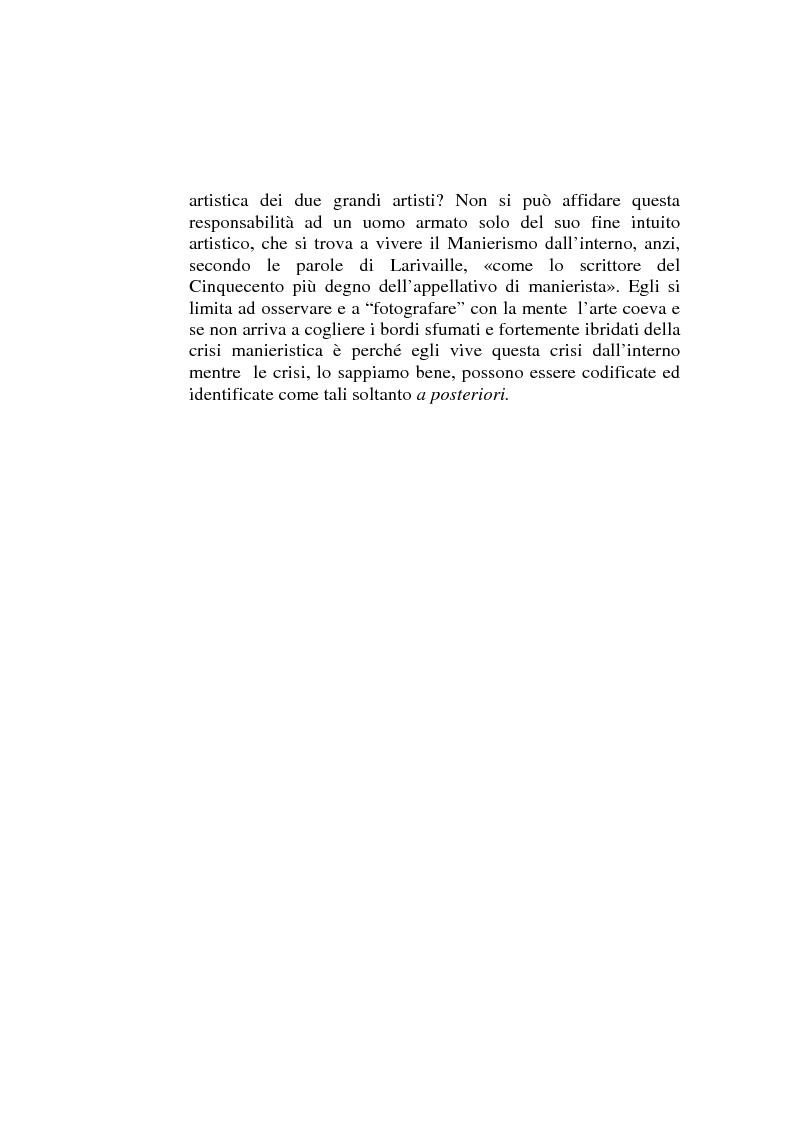 Anteprima della tesi: ''Io non son cieco ne la pittura'' Pietro Aretino e le arti figurative, Pagina 6