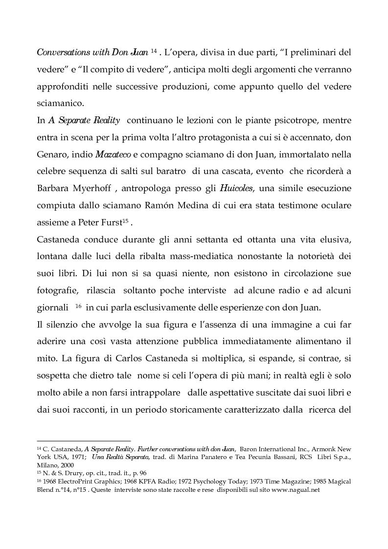 Anteprima della tesi: I testi di Carlos Castaneda e la risocializzazione del loro lettore, Pagina 13