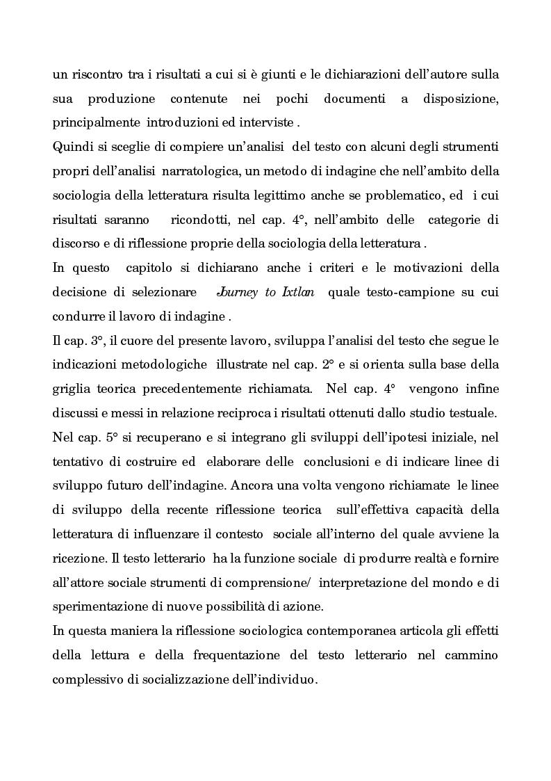 Anteprima della tesi: I testi di Carlos Castaneda e la risocializzazione del loro lettore, Pagina 5