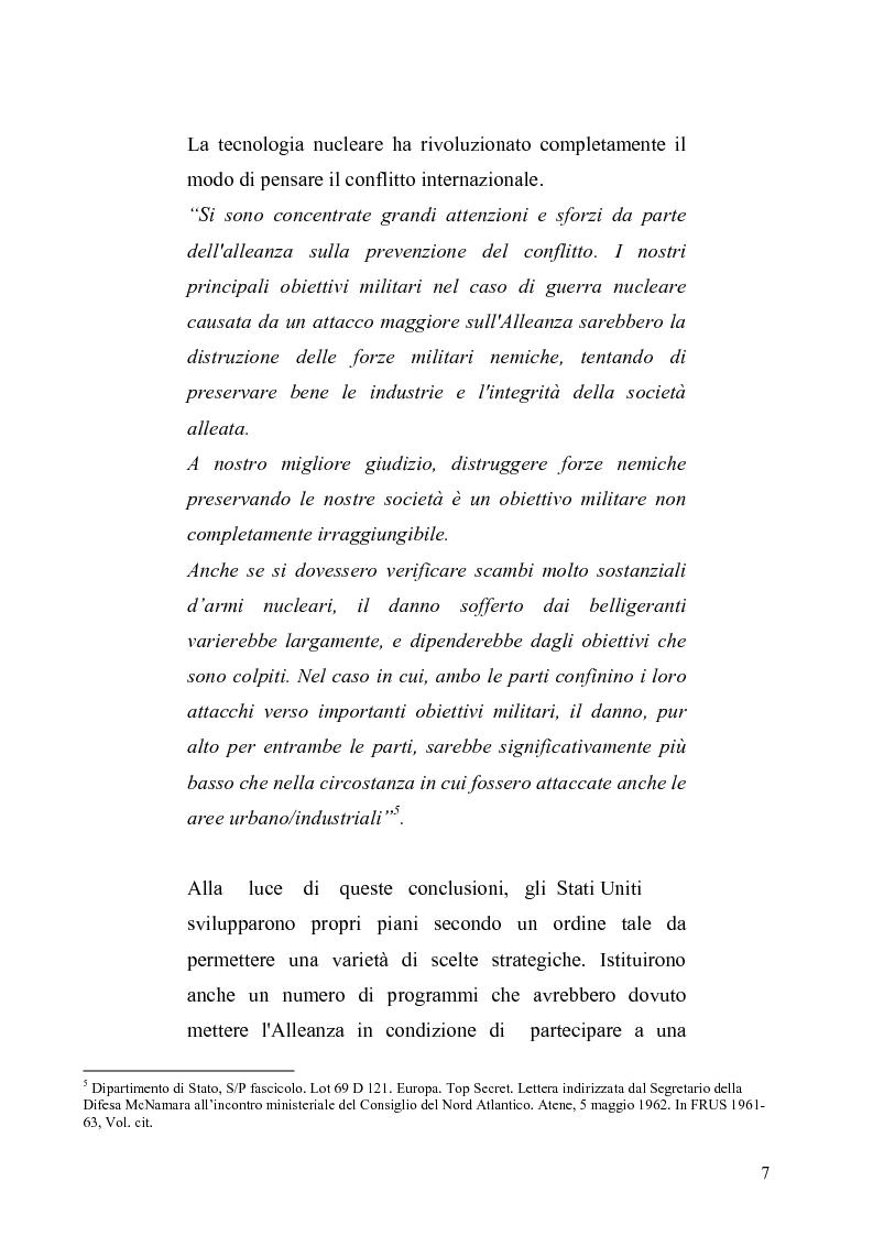 Anteprima della tesi: La dottrina della risposta flessibile: questioni di sicurezza europea e globale negli anni Sessanta, Pagina 4