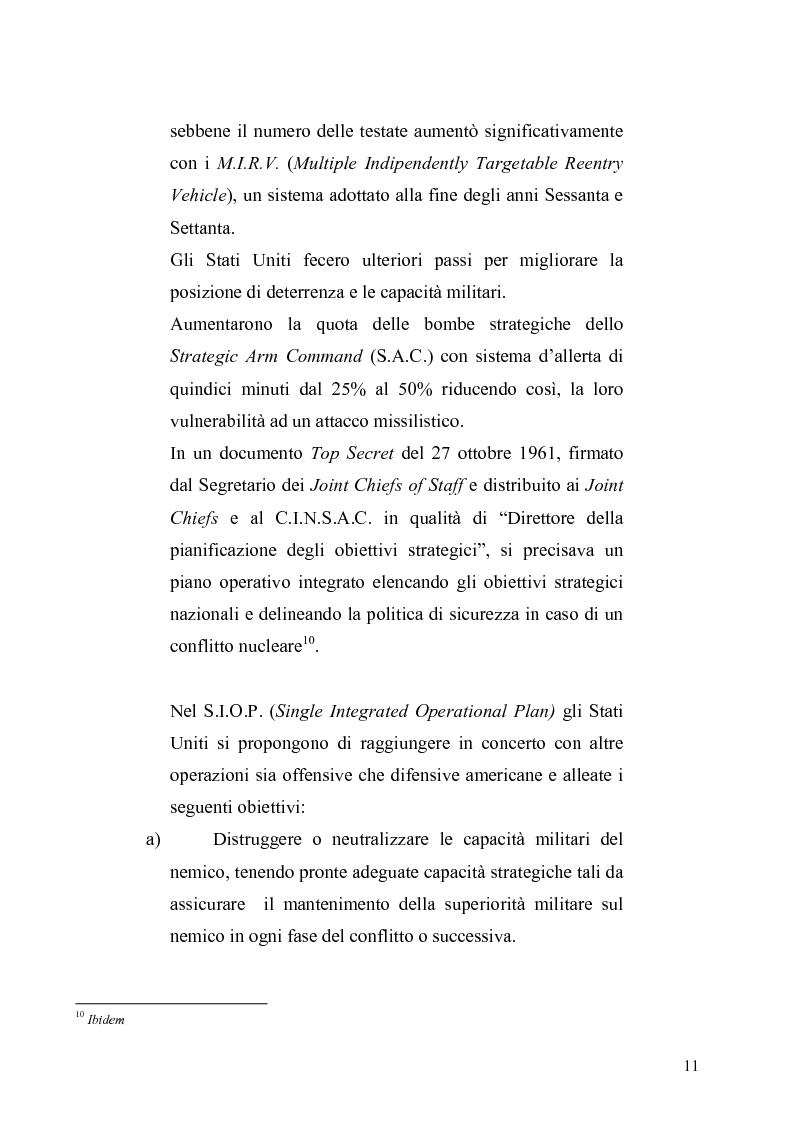 Anteprima della tesi: La dottrina della risposta flessibile: questioni di sicurezza europea e globale negli anni Sessanta, Pagina 8