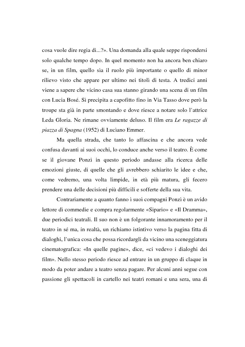 Anteprima della tesi: Maurizio Ponzi. Tra arte e mestiere, Pagina 10