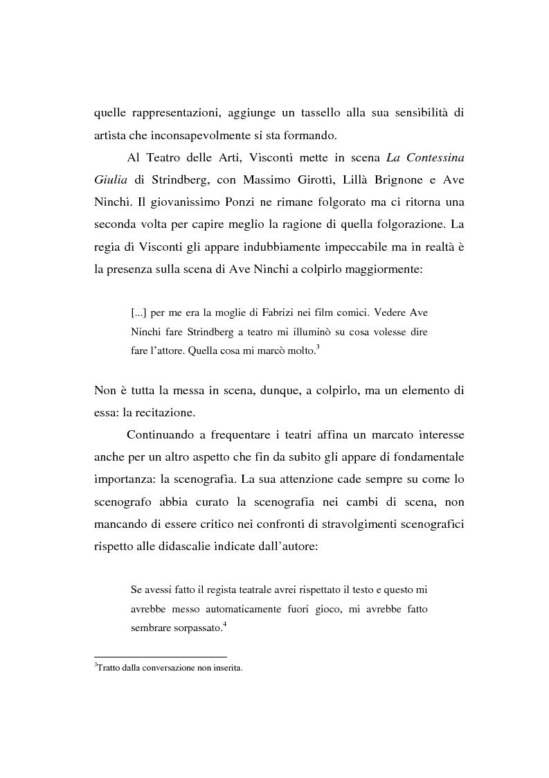 Anteprima della tesi: Maurizio Ponzi. Tra arte e mestiere, Pagina 11