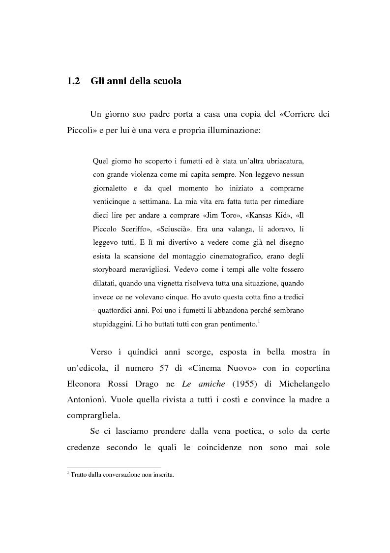 Anteprima della tesi: Maurizio Ponzi. Tra arte e mestiere, Pagina 14