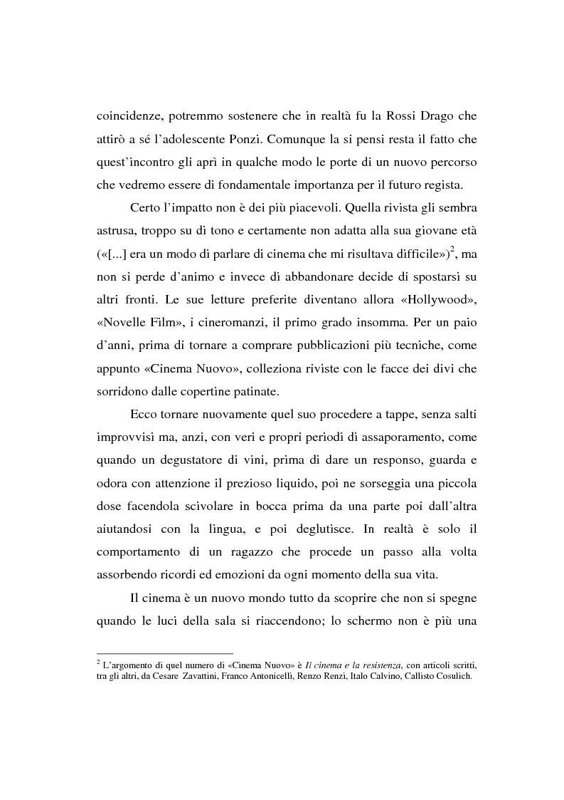 Anteprima della tesi: Maurizio Ponzi. Tra arte e mestiere, Pagina 15