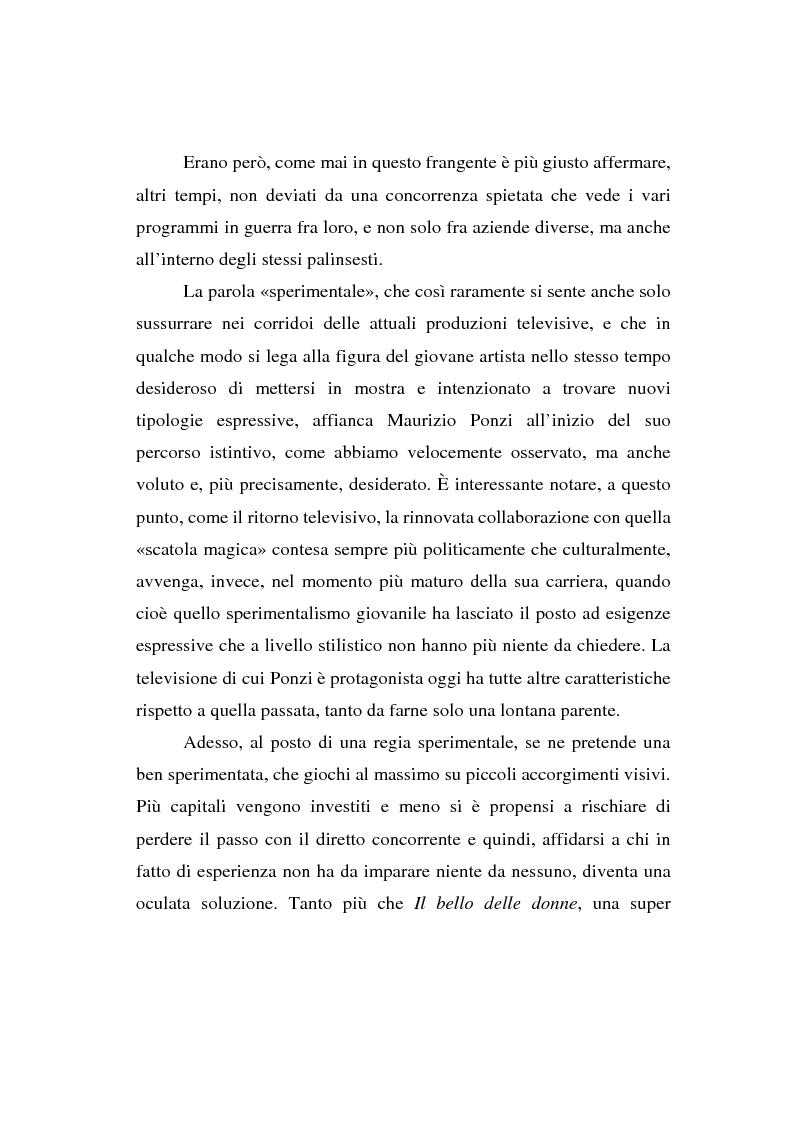 Anteprima della tesi: Maurizio Ponzi. Tra arte e mestiere, Pagina 3