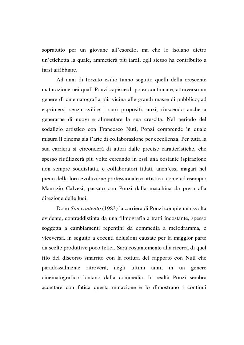 Anteprima della tesi: Maurizio Ponzi. Tra arte e mestiere, Pagina 5
