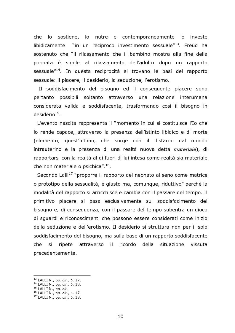 Anteprima della tesi: Autori di reati sessuali: analisi e prospettive trattamentali, Pagina 8