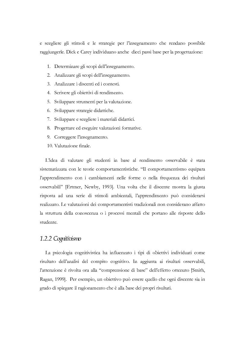 Anteprima della tesi: Apprendere a distanza: analisi, progetto e sviluppo del server di MultiCom II, Pagina 13