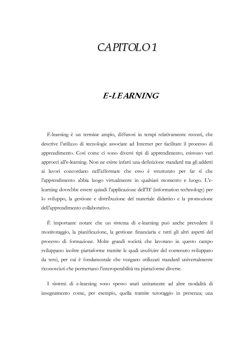 Anteprima della tesi: Apprendere a distanza: analisi, progetto e sviluppo del server di MultiCom II, Pagina 5