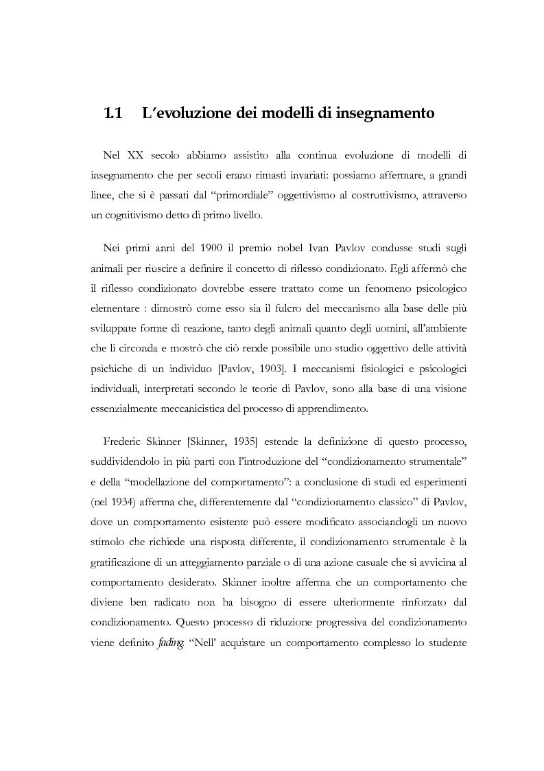Anteprima della tesi: Apprendere a distanza: analisi, progetto e sviluppo del server di MultiCom II, Pagina 7