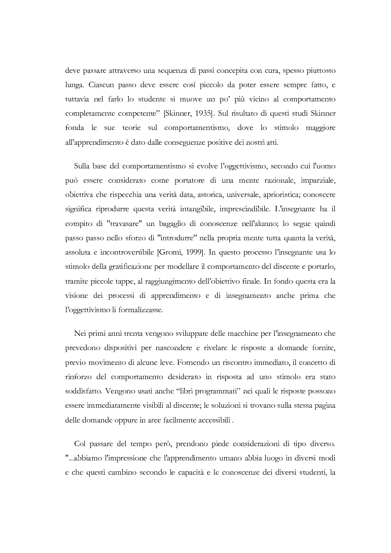 Anteprima della tesi: Apprendere a distanza: analisi, progetto e sviluppo del server di MultiCom II, Pagina 8