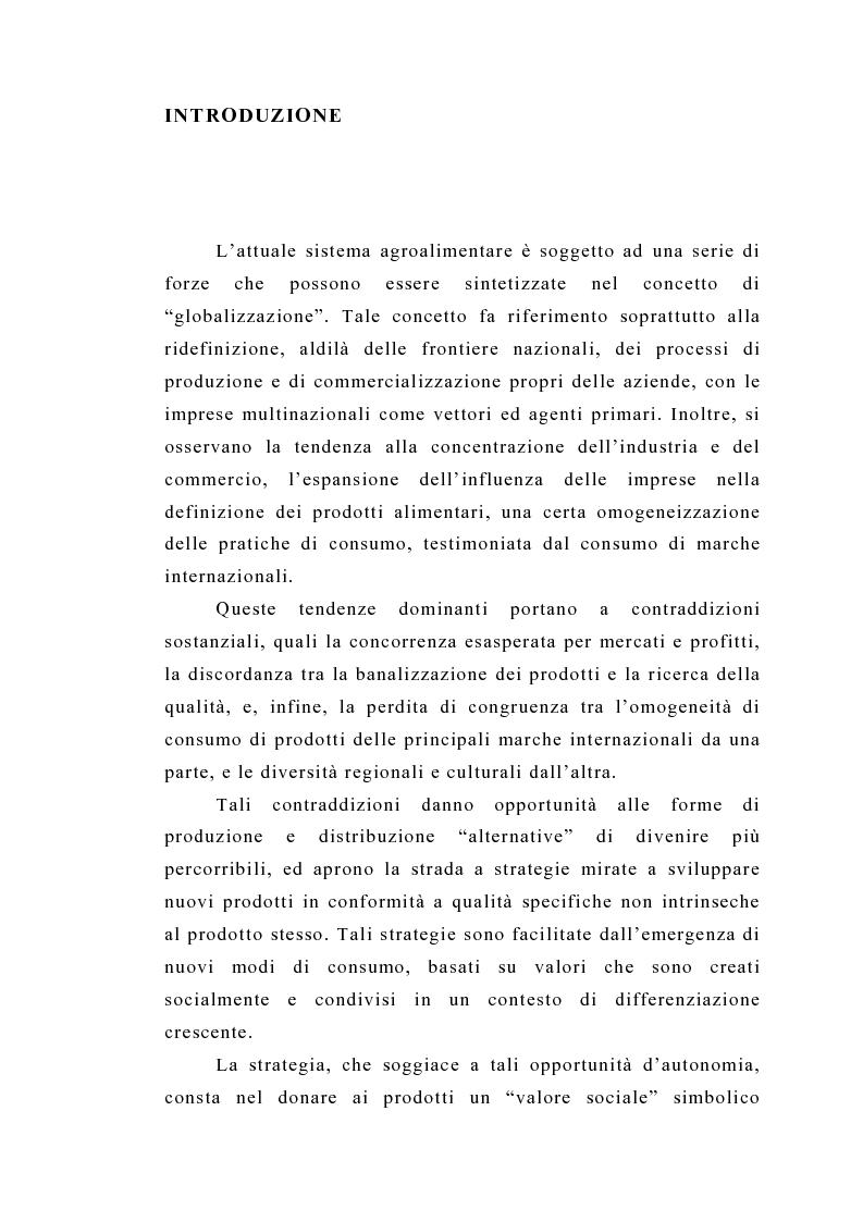Anteprima della tesi: Il commercio equo e solidale: il caso delle banane - Aspetti normativi, organizzativi e di mercato, Pagina 1