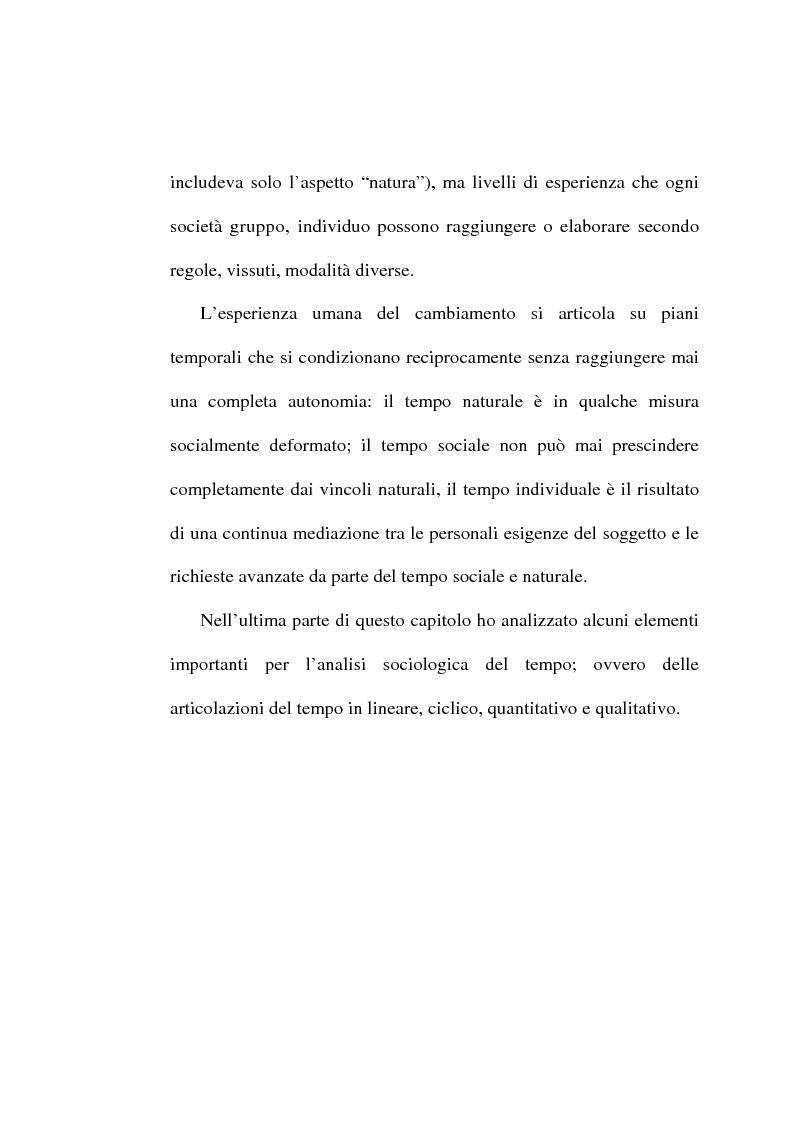 Anteprima della tesi: Il tempo, un mistero da esplorare: analisi sociologica al concetto di tempo, Pagina 2