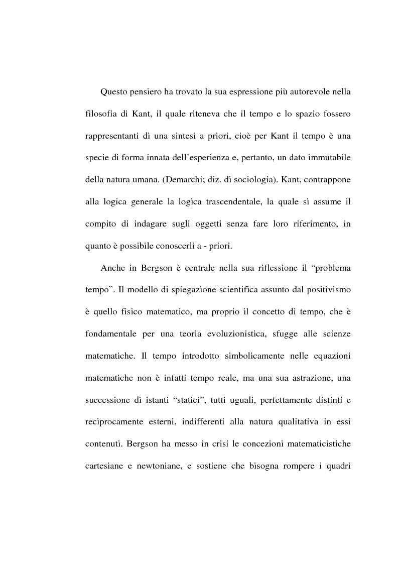 Anteprima della tesi: Il tempo, un mistero da esplorare: analisi sociologica al concetto di tempo, Pagina 4