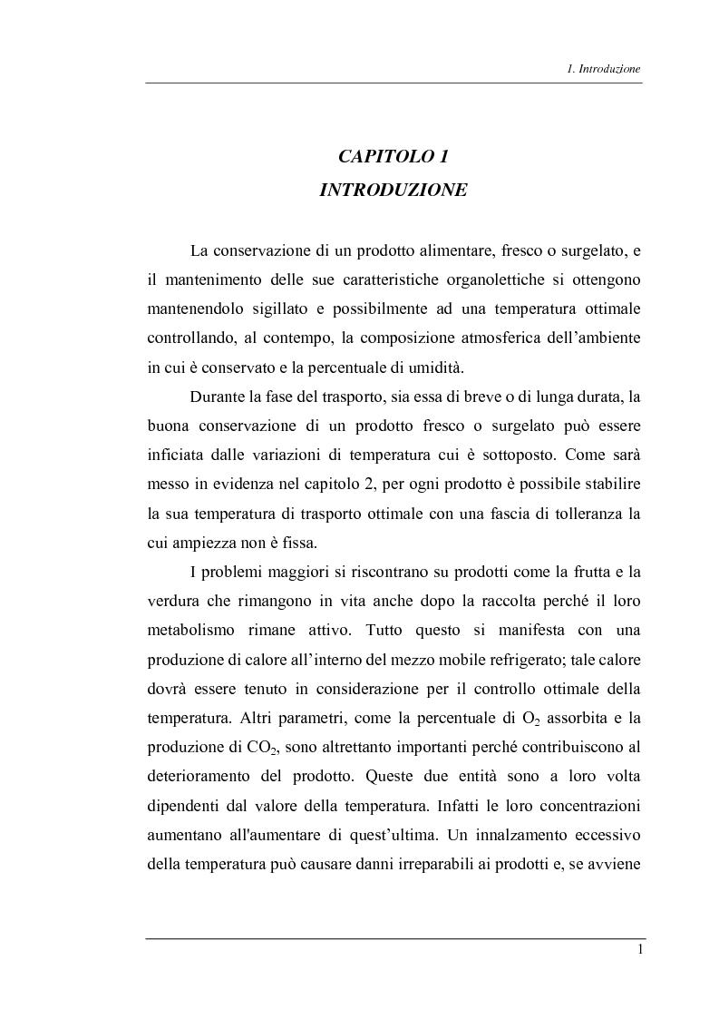 Anteprima della tesi: Trasmissione bidirezionale di dati di controllo tramite sms su reteradiomobile numerica, Pagina 1