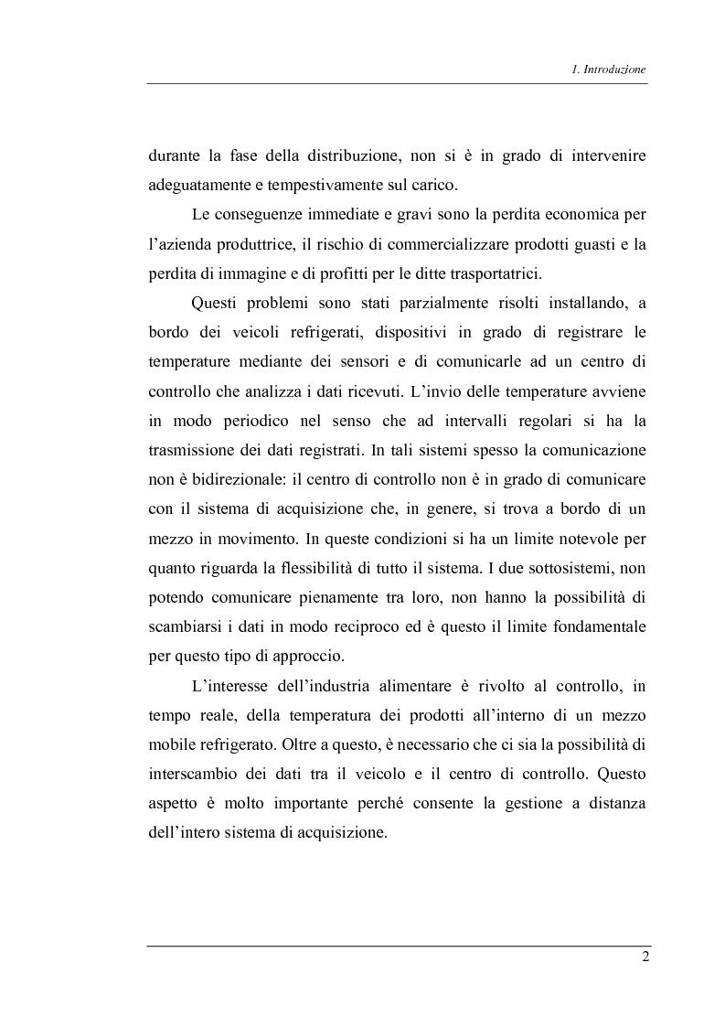 Anteprima della tesi: Trasmissione bidirezionale di dati di controllo tramite sms su reteradiomobile numerica, Pagina 2