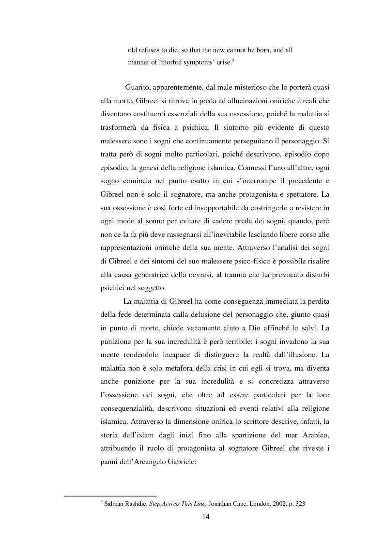Anteprima della tesi: L'onirico, il visionario e l'ossessivo in Salman Rushdie: tematiche post-coloniali, Pagina 11