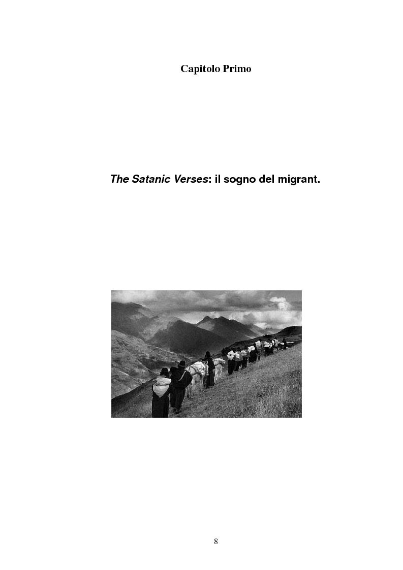 Anteprima della tesi: L'onirico, il visionario e l'ossessivo in Salman Rushdie: tematiche post-coloniali, Pagina 5