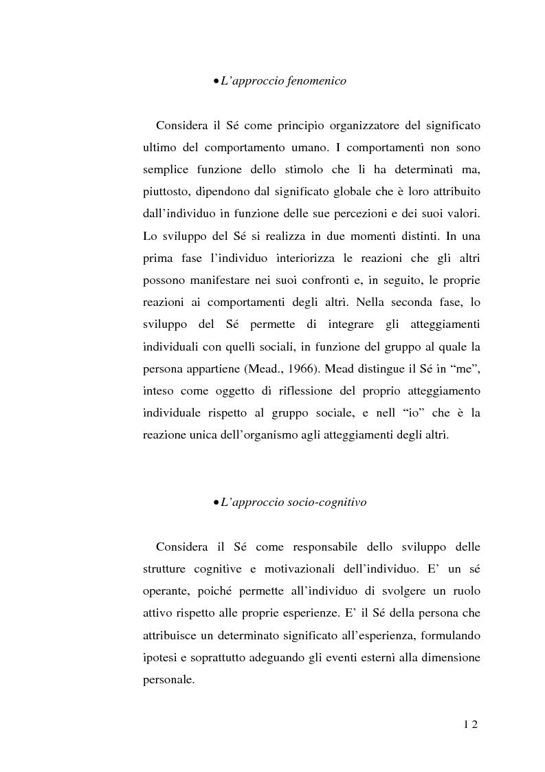 Anteprima della tesi: Percezione di sé e disabilità: Sé, corpo e ambiente, Pagina 10