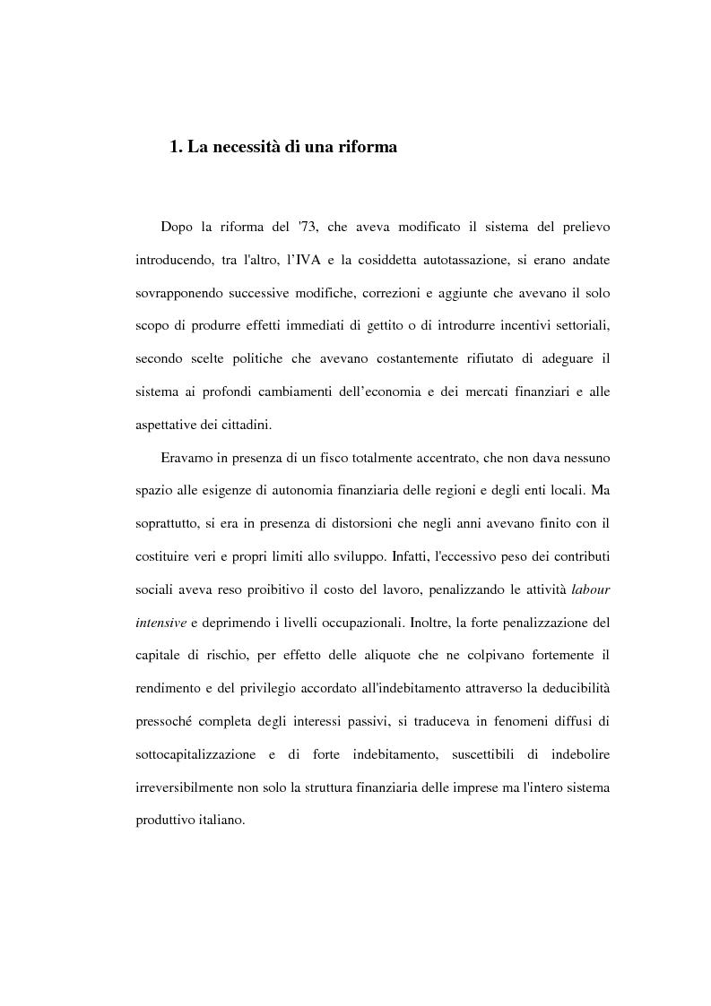 Anteprima della tesi: Valutazione degli effetti economici dell'Imposta Regionale sulle Attività Produttive (Irap), Pagina 3