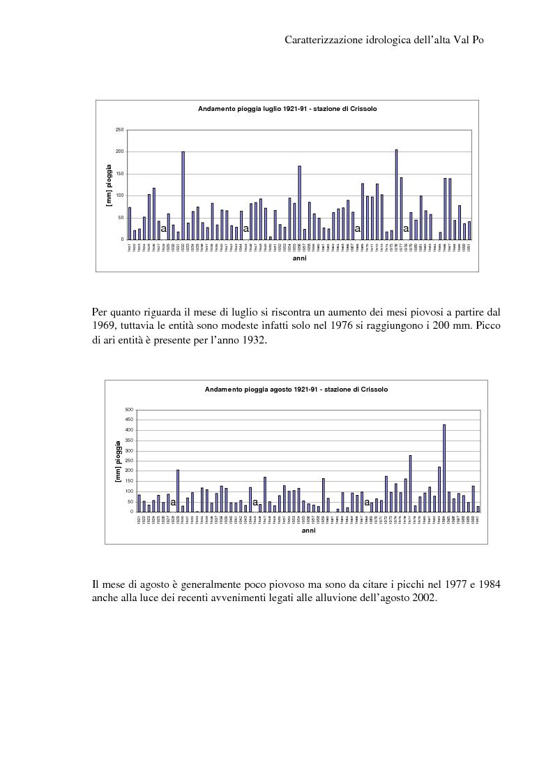 Anteprima della tesi: Caratterizzazione idrologica dell'Alta Val Po, Pagina 10