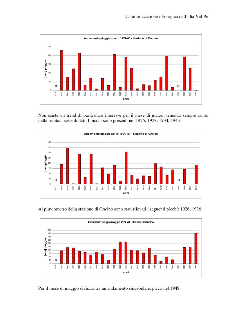 Anteprima della tesi: Caratterizzazione idrologica dell'Alta Val Po, Pagina 14